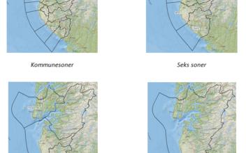 Kollektivtakster i Rogaland. Forenklet sonestruktur og billettportefølje for buss i Rogaland