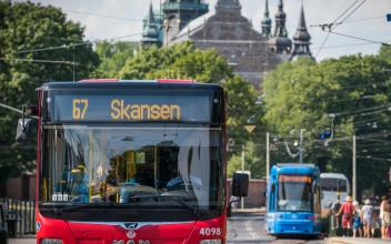 Potensial for økt kollektivtransport i Stockholm
