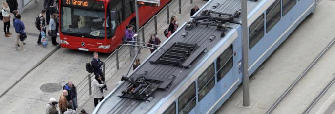 Optimale tilskudd til kollektivtransporten i byområder