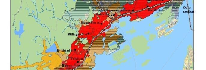 Forprosjekt om influensområder til kollektivtransportens innfartsparkeringer