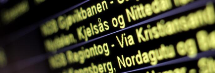 Forsinkelser koster kollektivtrafikantene 3 milliarder årlig