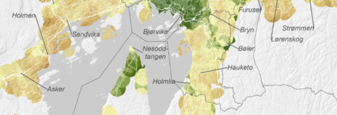 RVU 2013/2014 - Reisevaner i Osloområdet