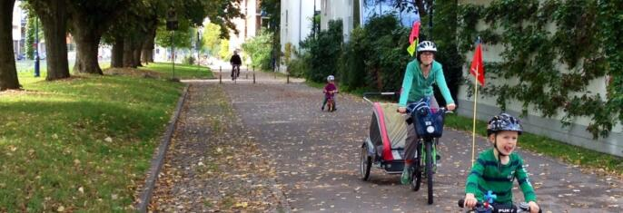 Målrettede sykkeltiltak i fire byområder