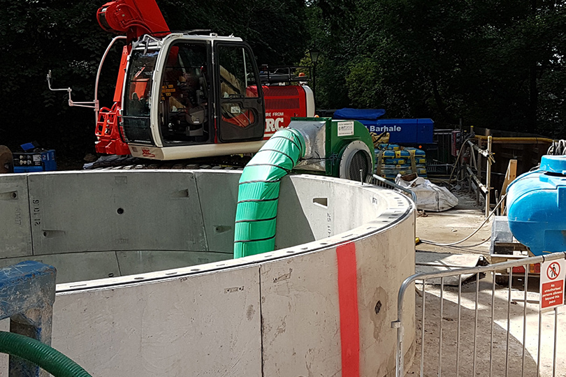 Battersea Gas Tunnel Project Image 1