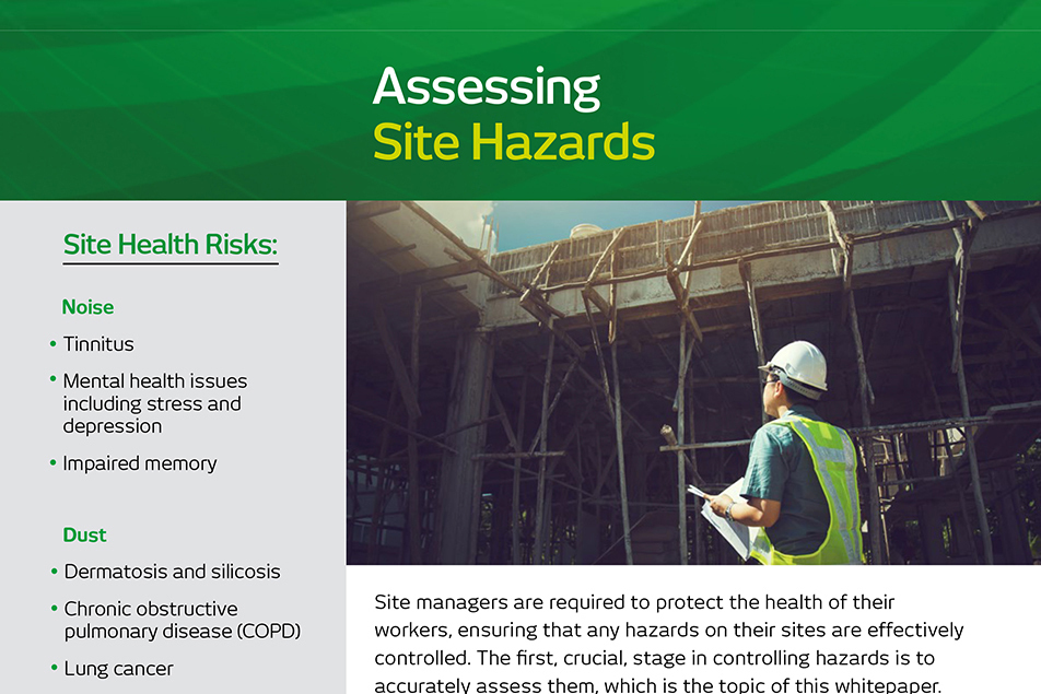 Assessing Site Hazards