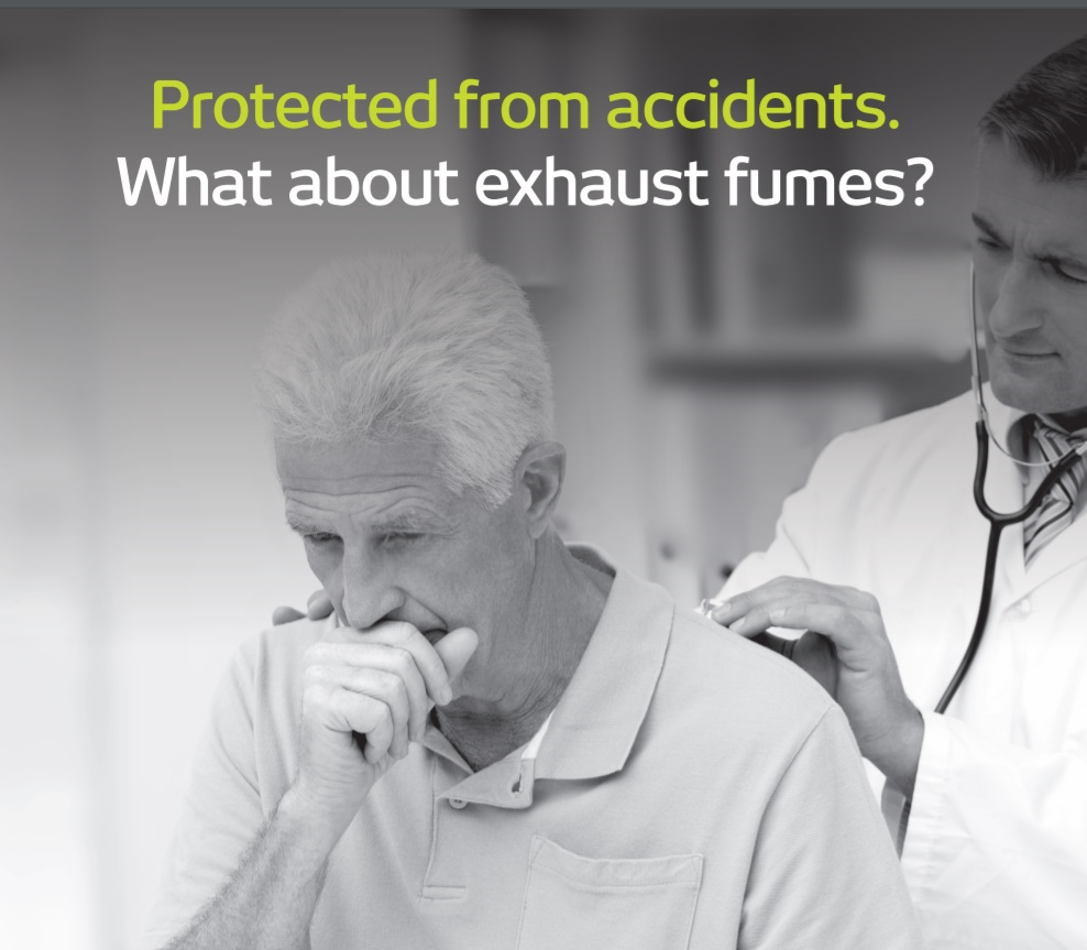 Exhaust Fume Poster