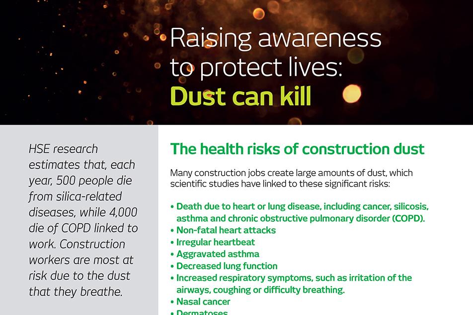 Raising Awareness Dust can Kill