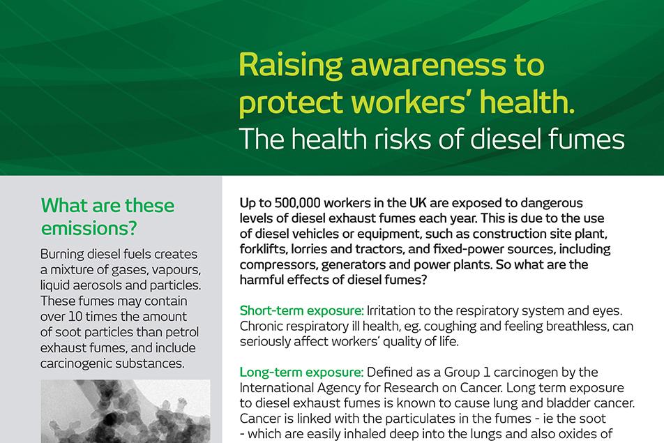Raising Awareness The impact of Diesel Fumes