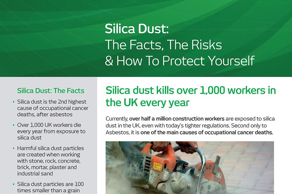 Understanding the dangers of Silica Dust