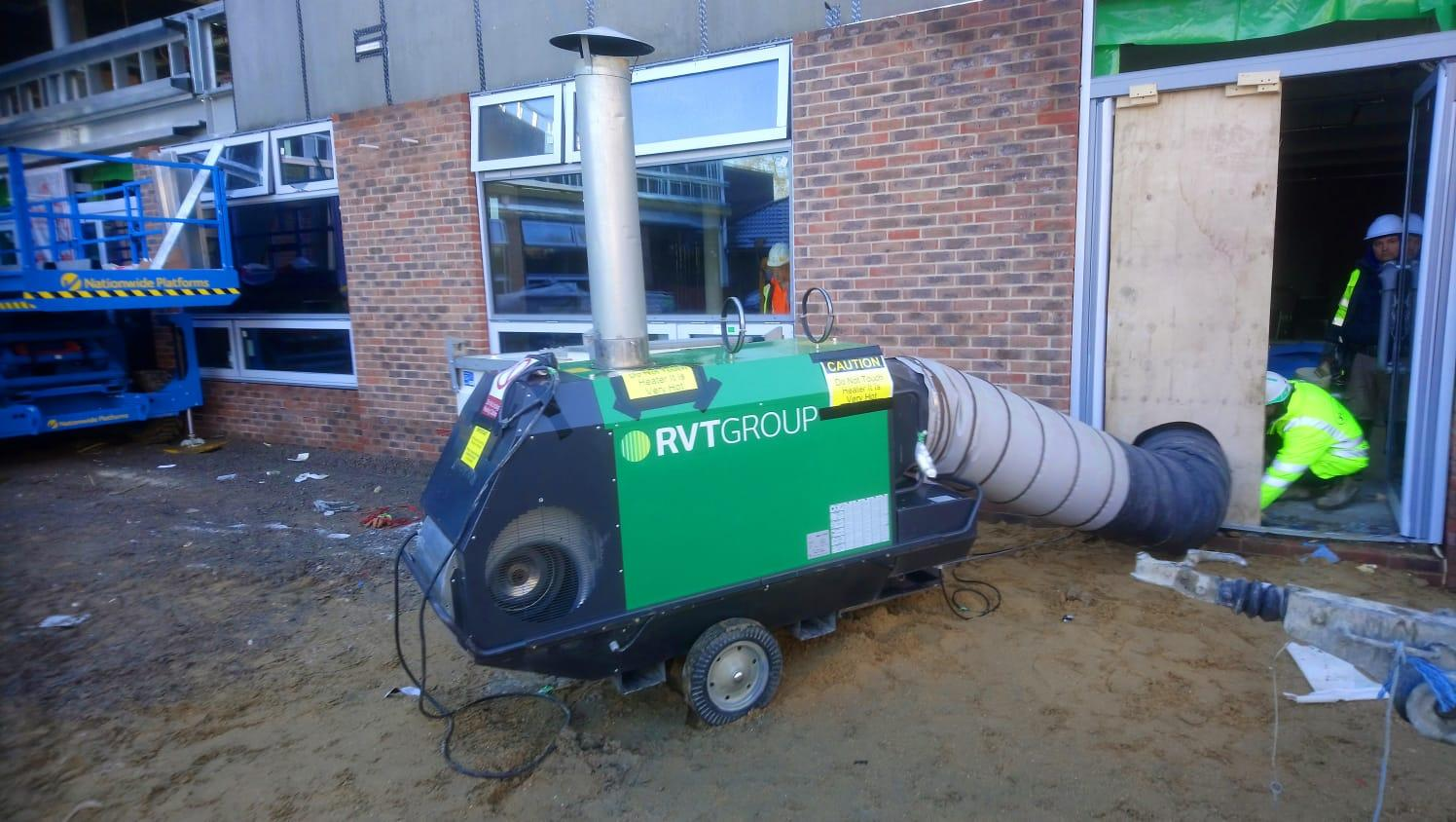 Indirect Oil fired heater 150k W