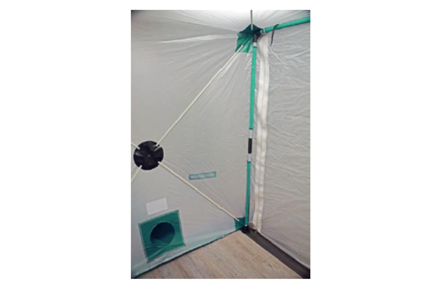 Dustex Air Lock in use 3