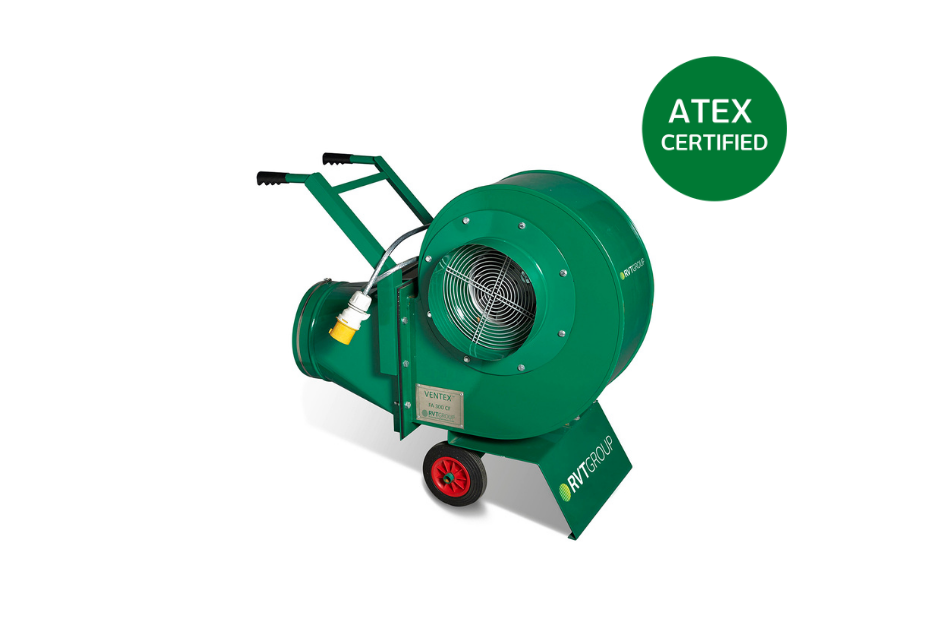 Ventex Centrifugal Fan 300 M ATEX website image