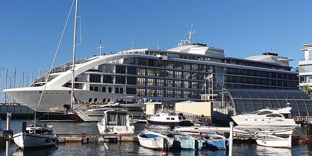 The Sunborn Superyacht Hotel and Casino cruise ship