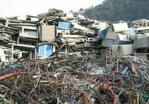 Electrical waste ready for processing