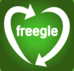 Freegle: Online listing to find a local home for unwanted electricals.