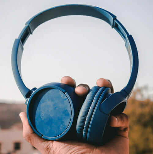 old pair of headphones
