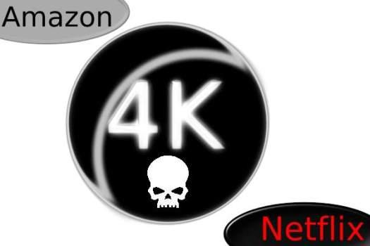 Les pirates ont réussi à extraire du contenu 4K d'Amazon et de Netflix