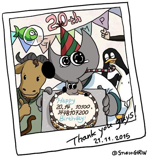 GIMP fête son 20e anniversaire