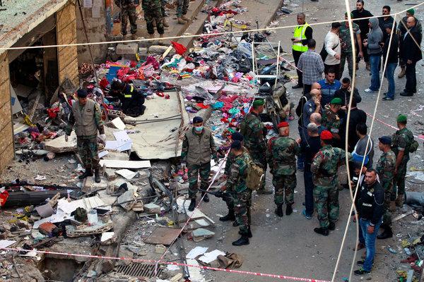 L'attaque à Bourj al-Barajneh au sud de Beyrouth est plus importante que les attaques à Paris par l'Etat Islamique