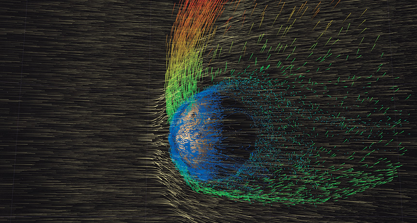 La planète Mars perd son atmosphere