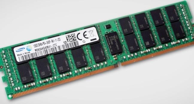 Samsung prépare des barrettes RAM de 128 Go