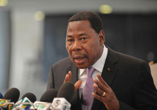 Boni Yayi, le président du Bénin a déclaré à l'occasion du COP21 que l'Afrique n'est pas à paris pour demander de l'argent ou des aides