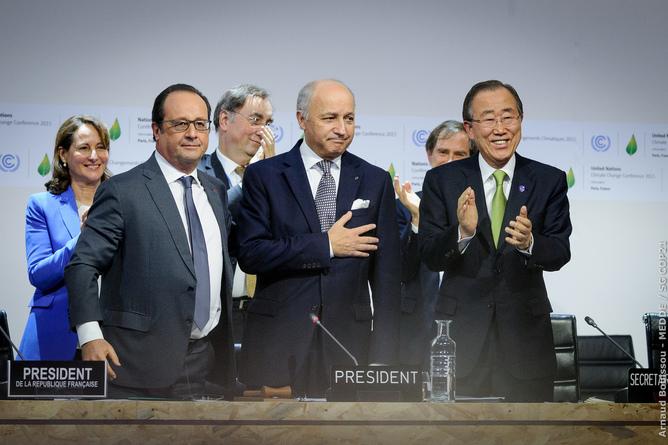 Accord sur le climat à Paris pour la COP21
