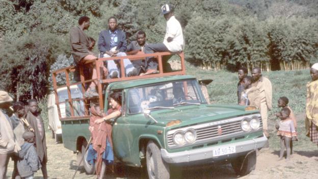 Diane Fossey avait des amis, mais également beaucoup d'ennemis