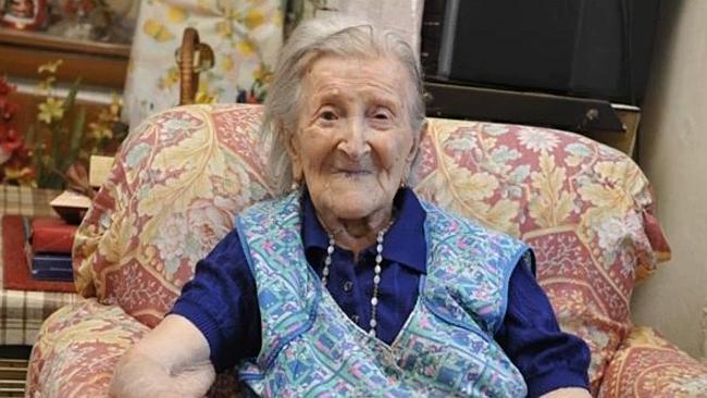 Emma Morano, la centenaire du haut de ses 116 ans