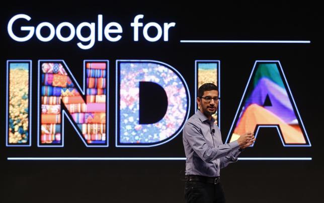 Le CEO de Google, Sundar Pichai, estime que l'Inde va être le principal terrain de test pour les nouveaux produits de Google