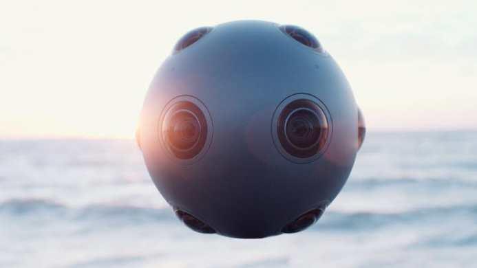 La caméra de réalité virtuelle de Nokia coute 60 000 dollars