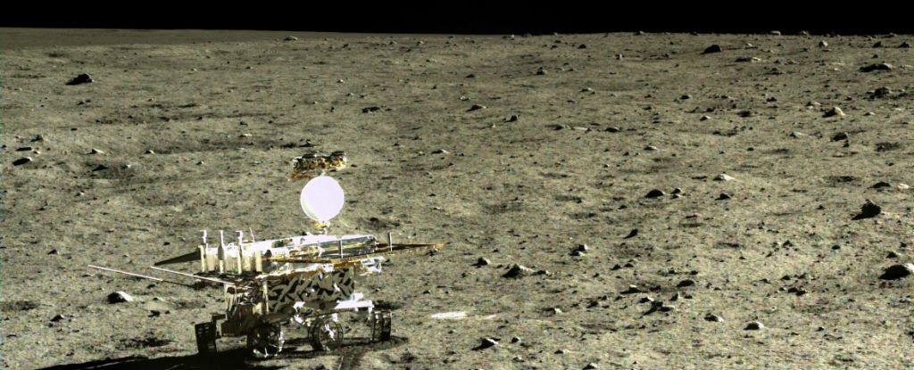 Le Rover chinois YuTu découvre une nouvelle roche lunaire