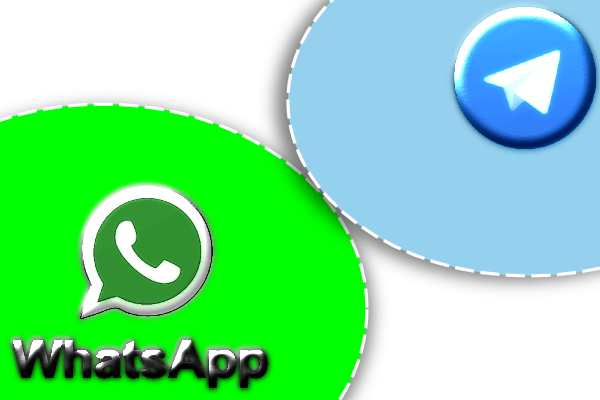 WhatsApp bloque les liens de l'application Telegram