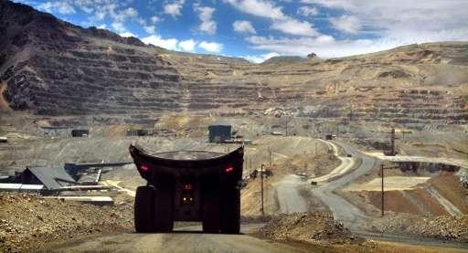 De l'arsenic provenant de mines chiliennes trouvé en Antarctique