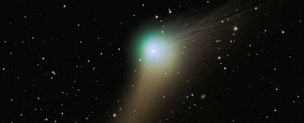 La comète Catalina passera à coté de la Terre le 17 janvier 2016