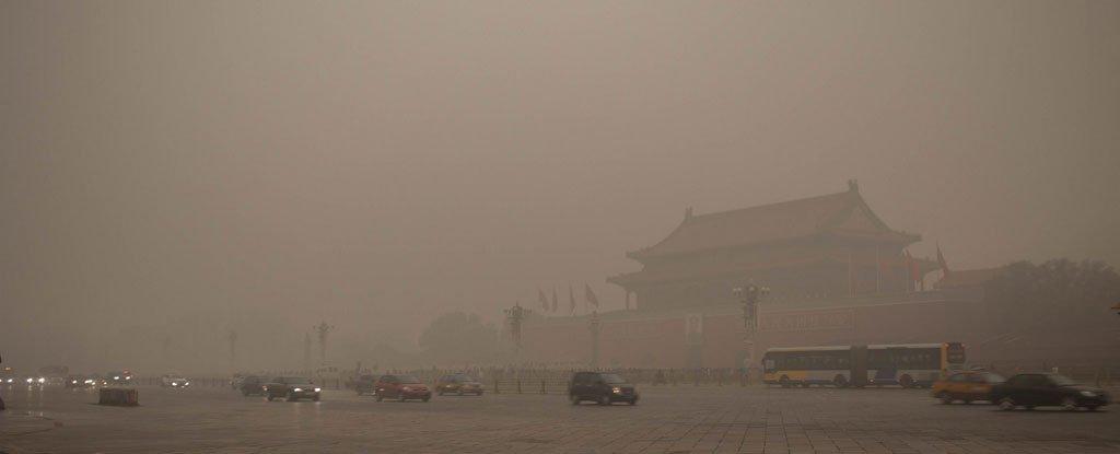 Alerte rouge pour le niveau de pollution à Pékin