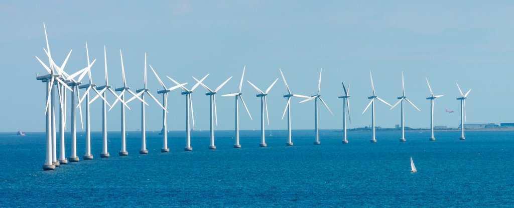 Le Danemark a produit 42 % de son énergie provenant de l'éolienne