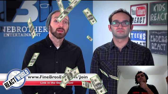 La chaine Youtube The Fine Bros a breveté le mot React et maintenant, il veut en faire une franchise. C'est comme si la parodie était désormais protégé par le droit d'auteur