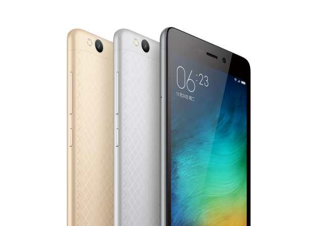 Le Xiaomi Redmi 3 possède une batterie de 4 100 mAh et il ne coute que 105 dollars
