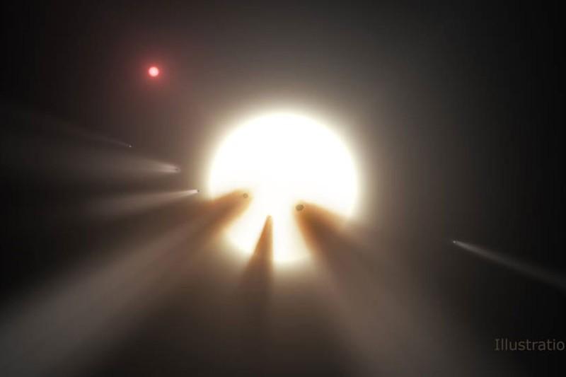 L'étoile KIC 8462852 devient de plus en plus étrange avec de nouvelles observations