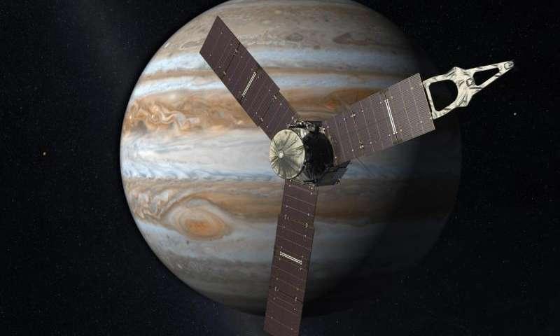 La sonde Juno bat le record d'un vaisseau alimenté par l'énergie solaire