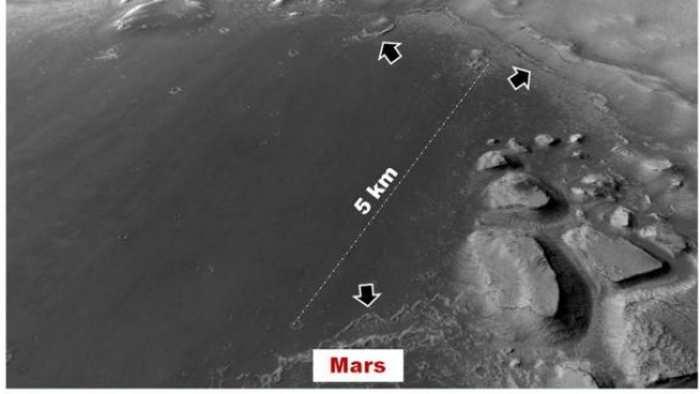 Une nouvelle recherche estime que d'anciens lacs sur Mars auraient pu abriter de la vie il y a 3 milliards d'années