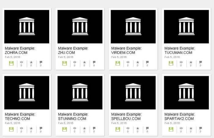 Le musée des Malwares est une initiative d'Archive.org pour nous rappeler les infections des PC avec les Malwares dans les années 1980 et 1990.