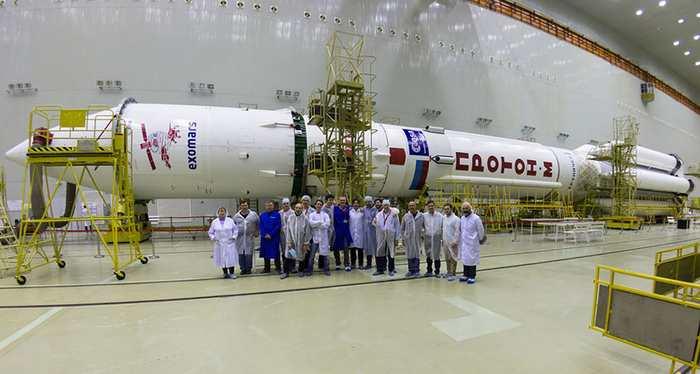 ExoMars est une sonde qui va chercher des traces de vie sur la planète Mars