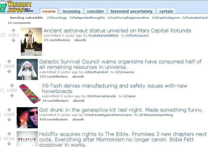 Reddit 3016, Découvrez ce que deviendra Reddit dans 1 000 ans