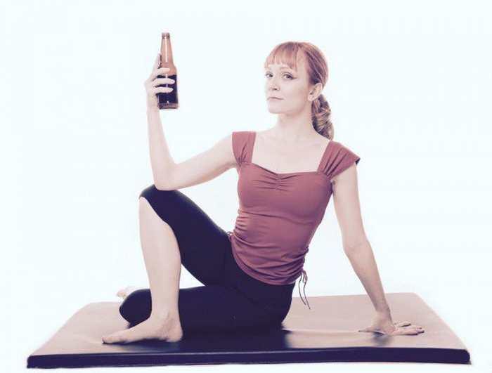 Le Rage Yoga vous permet de crier, d'insulter en buvant des bières