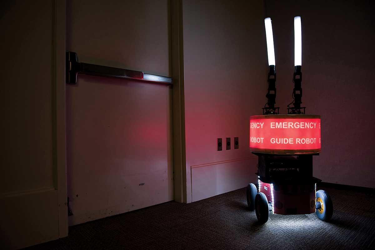 Les gens ont tendance à faire confiance aveuglément à un robot même s'il a tort