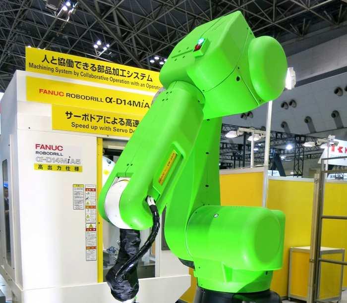 Un robot industriel, développé par l'entreprise Fanuc, peut apprendre son métier en 8 heures grâce au Deep Reinforcement Learning.