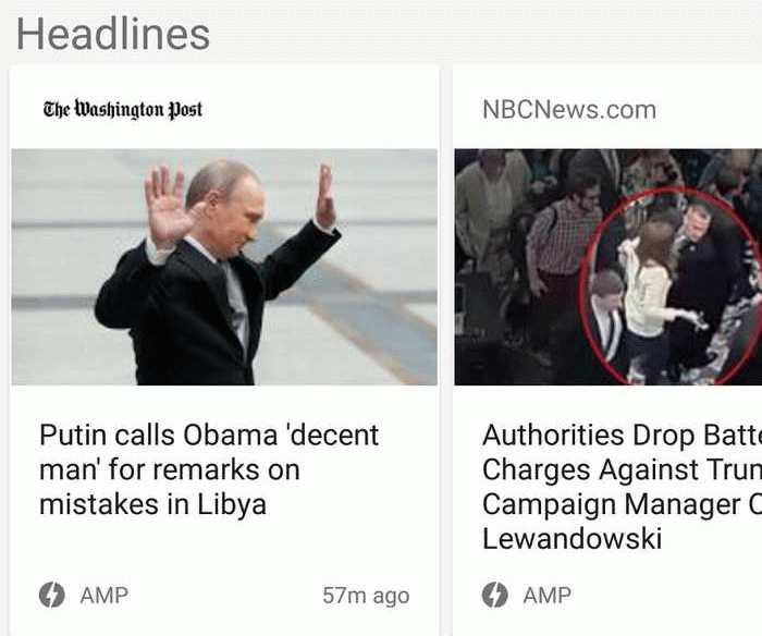 L'AMP (Accelerated Mobile Pages) est désormais prédominant dans Google News