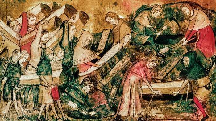 La peste noire en Europe a également au des conséquences dramatiques sur le reste du monde